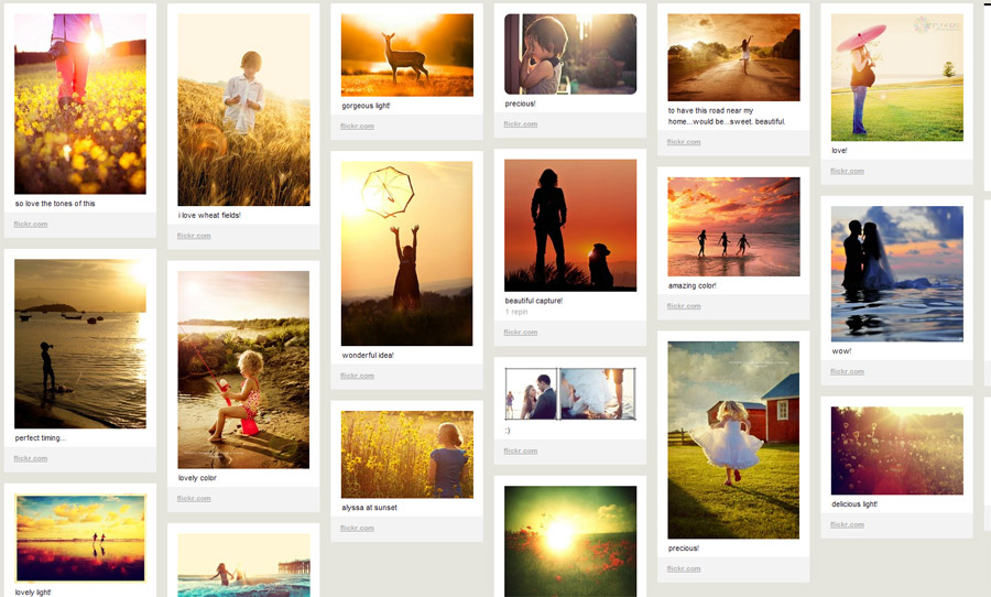 marketing web online en Pinterest