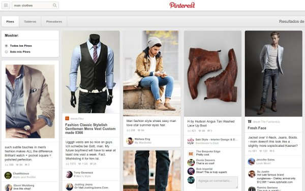 marketing online en pinterest